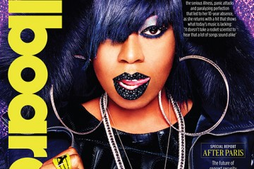 Missy Elliot covers Billboard Magazine
