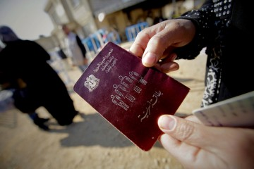 Fake syrian passports