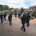UWC students clash with police a