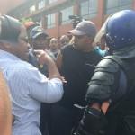 UWC students clash with police c