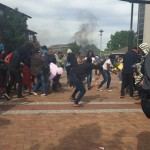UWC students clash with police k