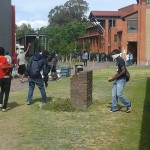 UWC students clash with police o