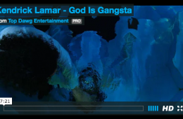 kendrick lamar god is gangsta short movie