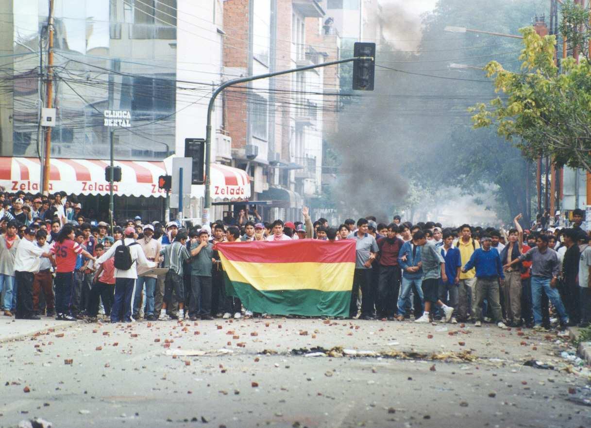 Bolivia Cochabamba Water War
