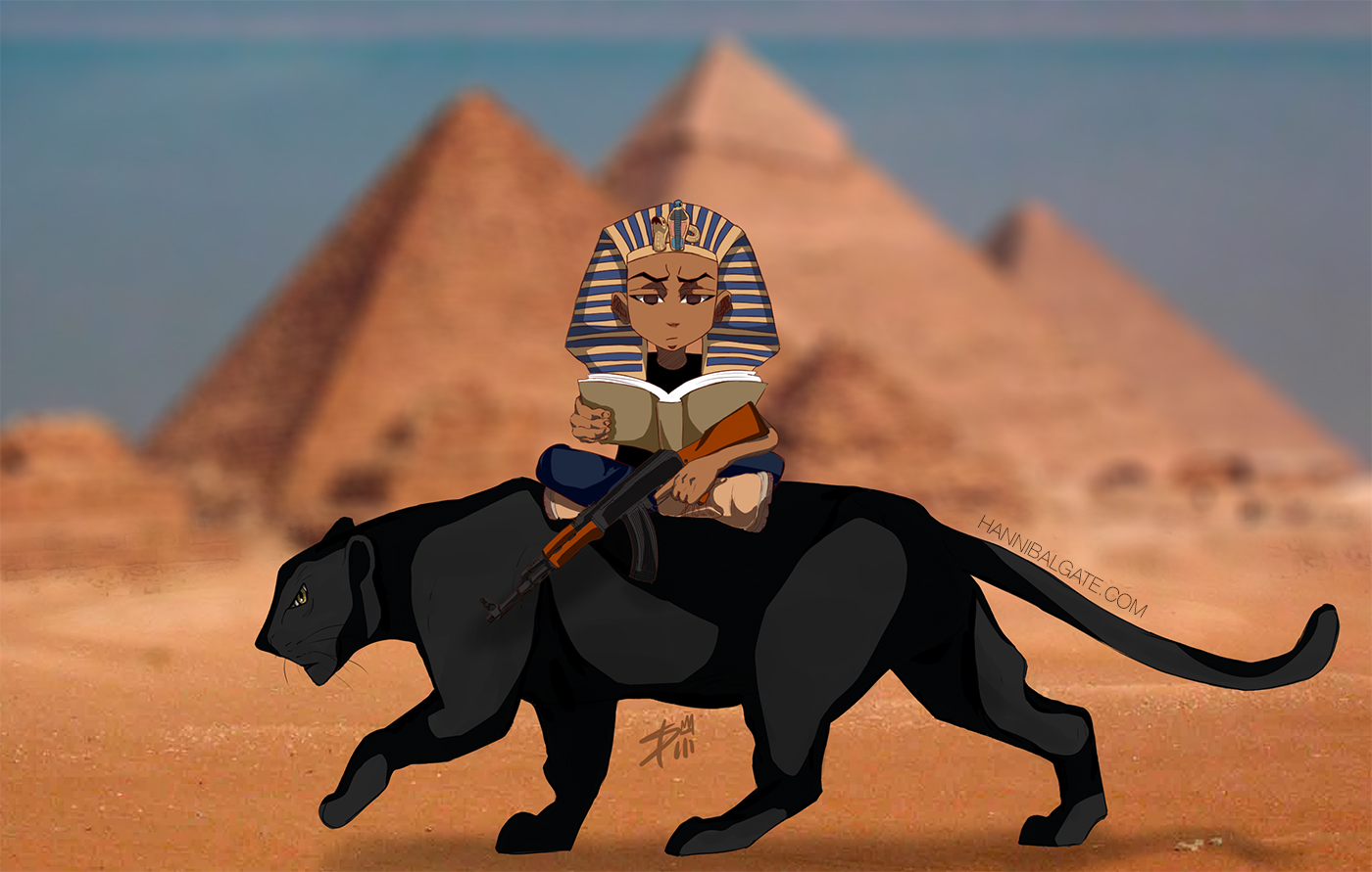 Hotep nation mascot