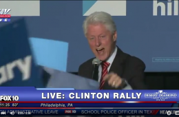 Bill Clinton black lives matter Philly