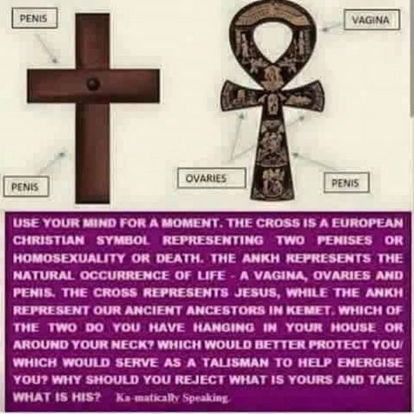cross vs ankh