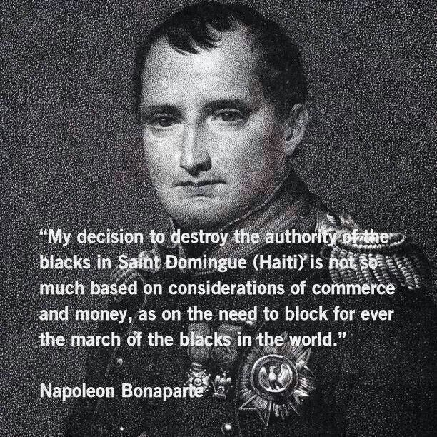 napoleon racist quote