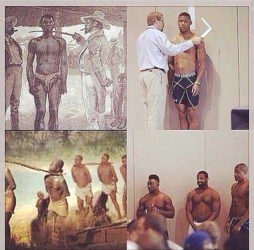 sports is slavery